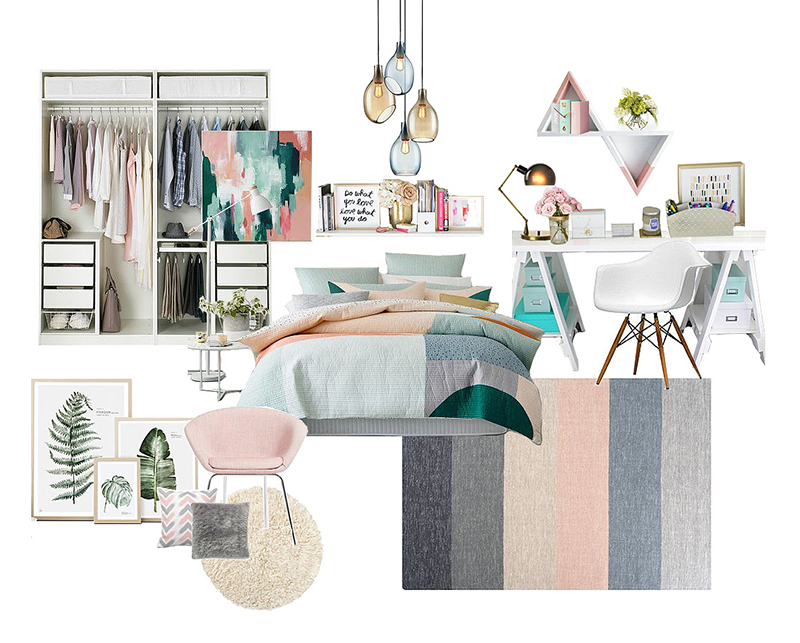 Soft décor design